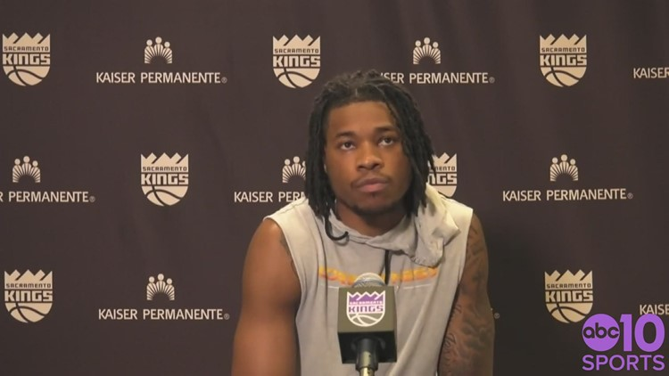 Kings center Richaun Holmes discusses how his team is dealing with losses, areas of improvement