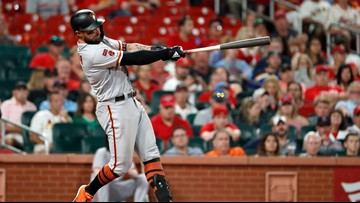 Pillar hits go-ahead HR to lift Giants over Cardinals 9-8