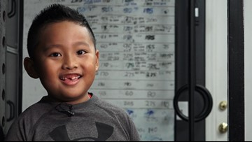 6-year-old Rancho Cordova boy is building strength through powerlifting
