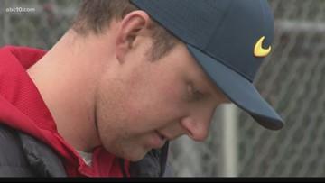 Sacramento native Rhys Hoskins returns to Jesuit to host baseball camp