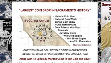 The nationwide 'Great American Coin Hunt' is underway in Sacramento