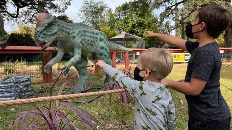 Dinosaur Safari roars into Sacramento Zoo