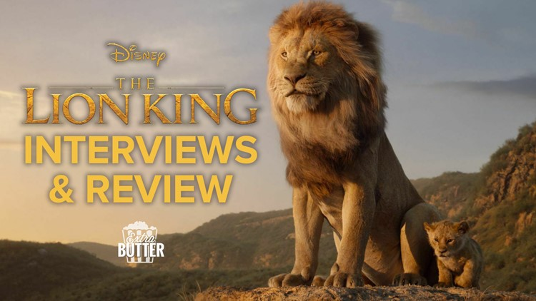 'The Lion King' review and interviews   Extra Butter