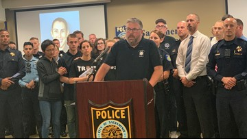 Officer O'Sullivan's family makes first public appearance since deadly shooting