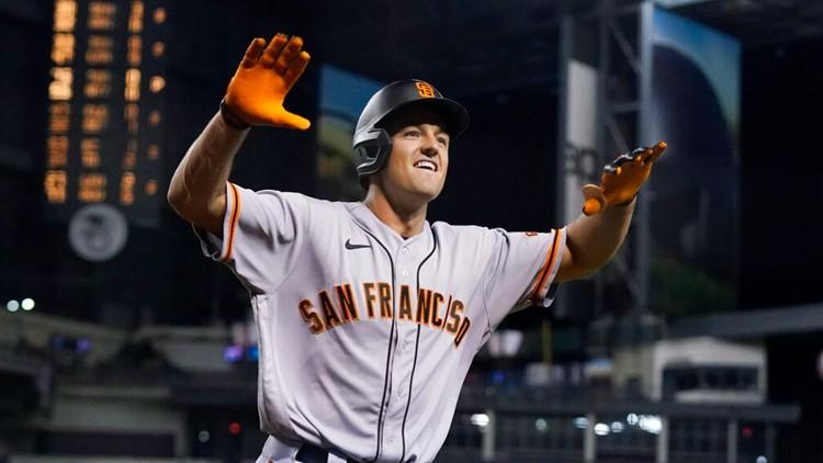 Vosler's 1st homer sends Giants over skidding D'backs 5-4