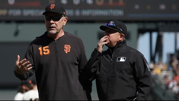 Giants blanked by Rays after picking up 3rd win of the season