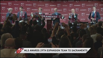 Don Garber announces MLS is expanding to Sacramento   RAW