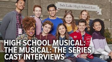 High School Musical: The Series   Disney+ cast interviews   Extra Butter