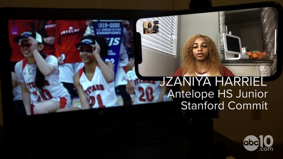 Antelope High School basketball star Jzaniya Harriel announces commitment to Stanford