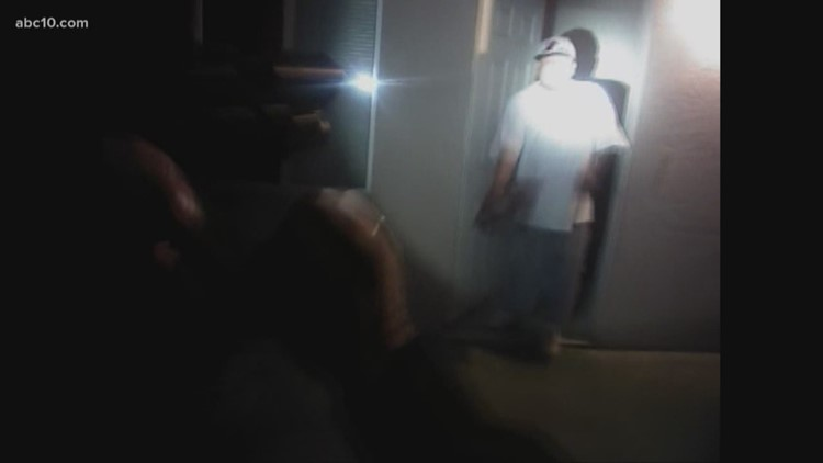 RAW VIDEO: Body camera footage shows Modesto Police Officer shoot unarmed man