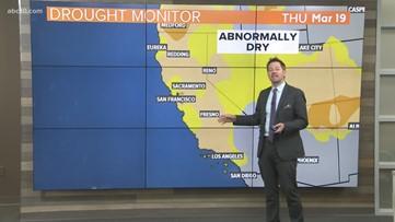 Geek Lab: Statewide drought conditions still increasing slightly, despite recent rains