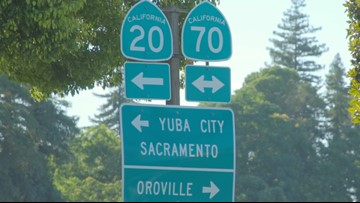 22-mile stretch of Hwy 70 known as 'Blood Alley' to see
