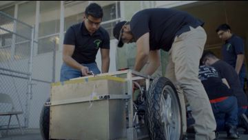 Sac State develops energy efficient vehicle for Shell Eco-marathon Americas competition