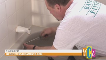 Remodel your Bathroom in as little as One Day with Bath Fitter | House to Home