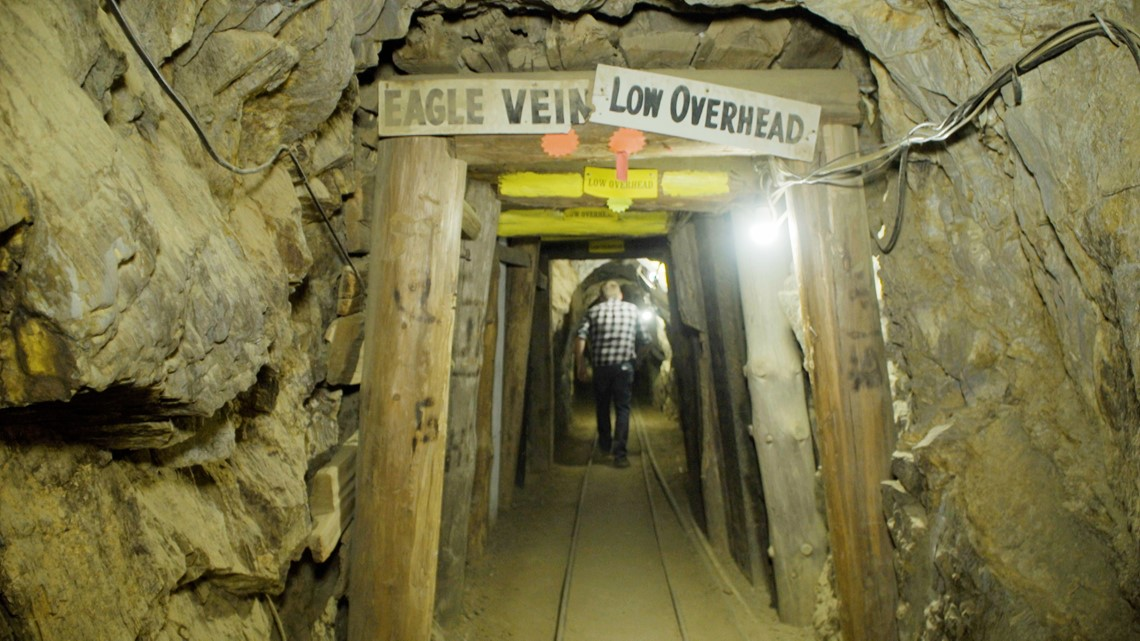 Tour the Eagle Mine, the center of California's second Gold Rush | Bartell's Backroads