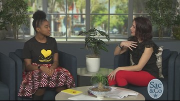 13 year old shares her passion for all to have a Happy Heart!