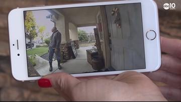 Surveillance video shows suspicious man going door-to-door asking for DNA samples in Turlock