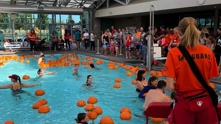 Roseville's Floating Pumpkin Patch is making waves