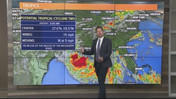 Local afternoon weather: July 11, 2019