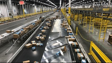 Amazon's Tracy fulfillment center fast-paced on Cyber Monday amid safety concerns for workers