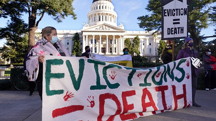 As California's eviction ban ends, some protections remain