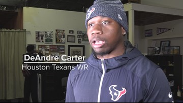 Sports Standout: Houston Texans WR DeAndre Carter
