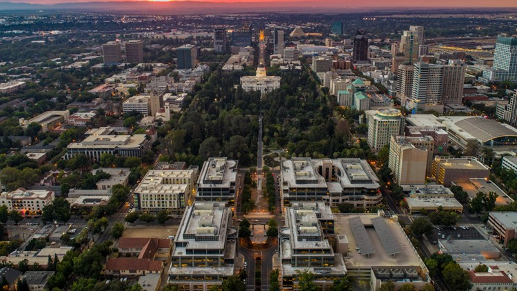Downtown Sacramento skyline to change with a new high rise expected to come 2025