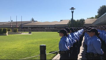 Fallen CHP officer mourned by California Highway Patrol Academy