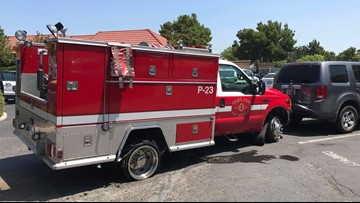 Stolen Oakland fire engine winds up in Vacaville after chase