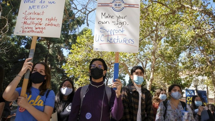 Pressure mounts on UC system to reach agreement with lecturer workforce as strikes and class cancellations loom