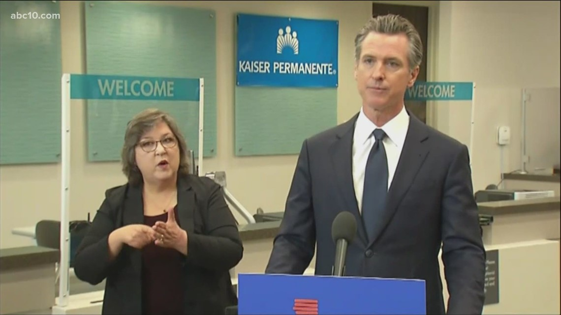 Gov. Newsom announces state to require proof of vaccination or weekly testing for all state workers, health care employees | Raw