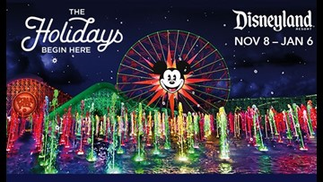 Spend your Holidays at the Disneyland Resort!