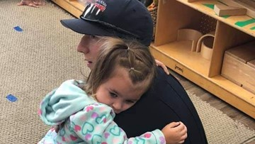 An autistic child was having a hard time until this Wheatland firefighter made the save