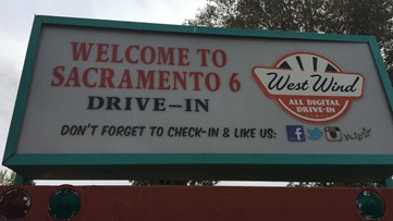 Sacramento drive-in movie theater reopens despite stay at home order