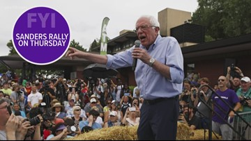 Search for sexual assault suspect, Bernie Sanders rally Thursday | FYI