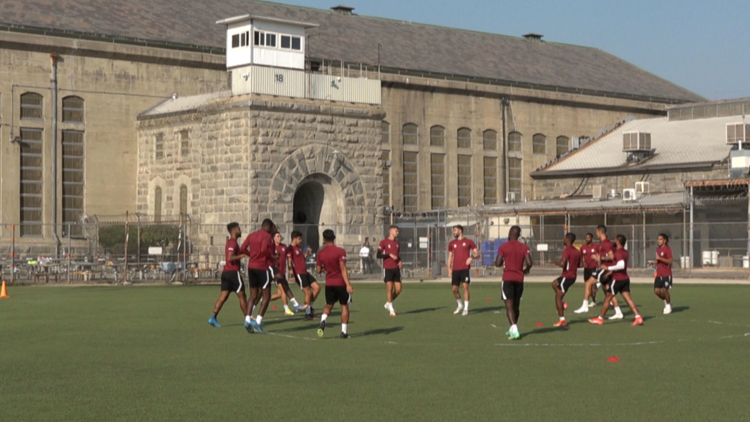 Sacramento Republic FC brings hope to inmates at Folsom State Prison