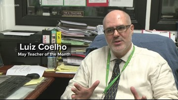 May 2019: Luiz Coelho is our Teacher of the Month
