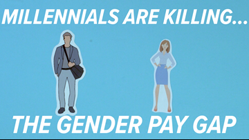 Millennials are killing...the gender pay gap
