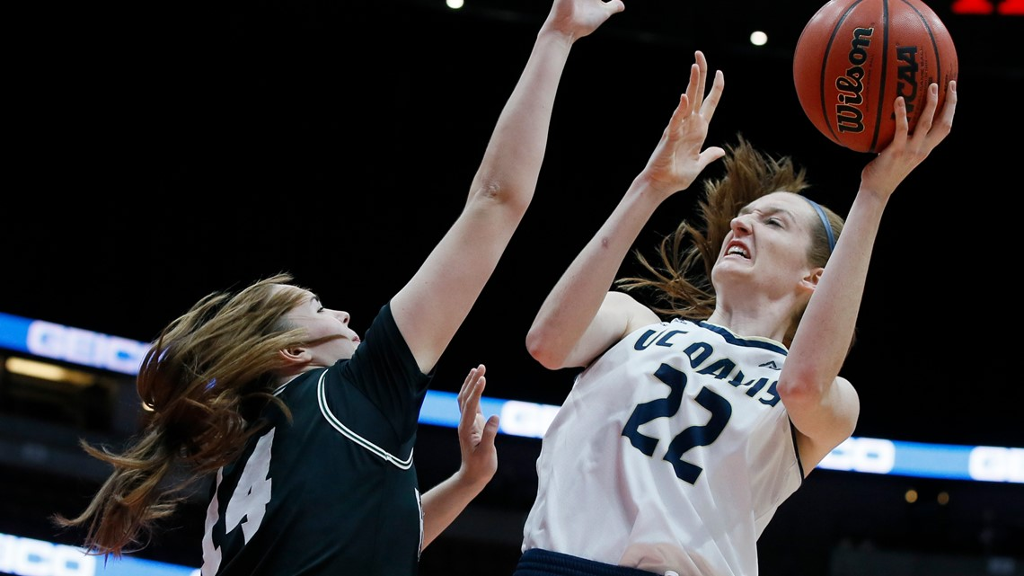 Morgan Bertsch becomes first UC Davis player drafted to WNBA