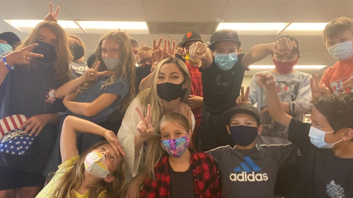 An El Dorado Hills teacher and her 4th graders TikTok'd their way to $50,000 for Shriners Hospital