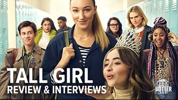 'Tall Girl': Netflix movie review & funny cast interview | Extra Butter