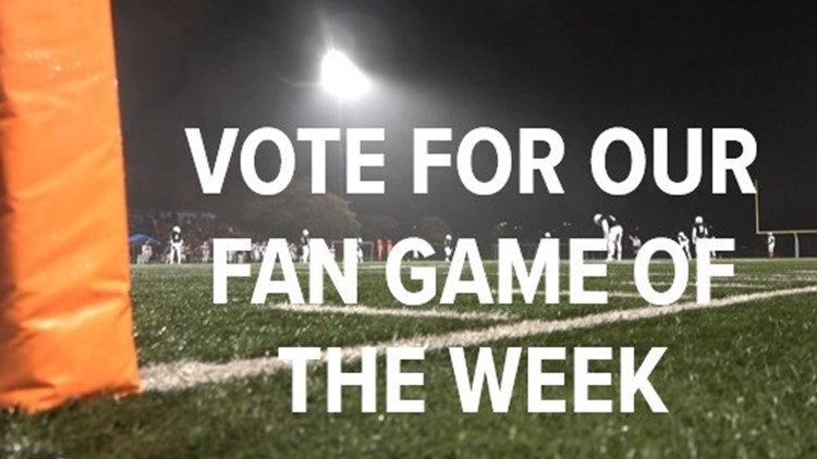 Vote for the ABC10 Fan Game of the Week for Week 8