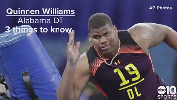 DT, Quinnen Williams – New York Jets – No. 3 pick | Need to know