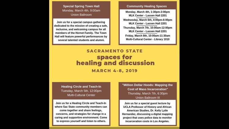 Sac State Healing Spaces