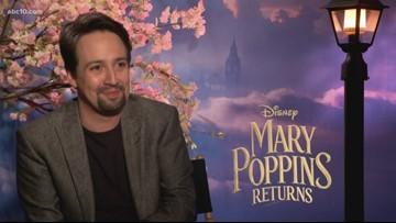 'Mary Poppins Returns' interviews: Lin-Manuel Miranda
