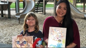 Patience and a collection of 'My Little Ponies' bonds a 7-year-old and her neighbor after argument