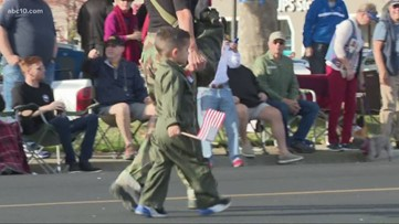Folsom Veterans Day Parade brings thousands of people