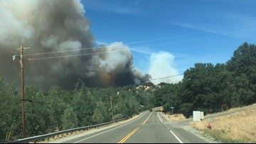 Mountain Fire in Shasta County   Road closures and evacuation information