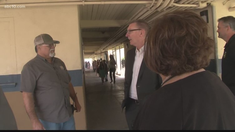 New Stockton Unified School District Superintendent Visits Fremont