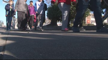 Stockton marchers honor MLK Jr., say more needs to be done for equality